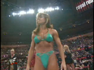 Royal rumble bikini contest