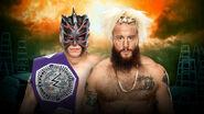 TLC 2017 Enzo Amore vs Kalisto