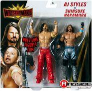 WWE Battle Packs WrestleMania 35 AJ Styles & Shinsuke Nakamura