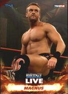 2013 TNA Impact Wrestling Live Trading Cards (Tristar) Magnus 29