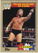 2017 WWE Heritage Wrestling Cards (Topps) Ted DiBiase 85