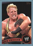 2011 WWE (Topps) Jack Swagger 49