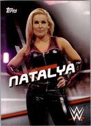 2016 WWE Divas Revolution Wrestling (Topps) Natalya 28