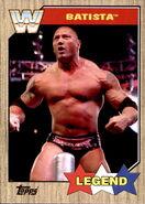 2017 WWE Heritage Wrestling Cards (Topps) Batista 70