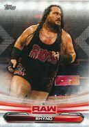 2019 WWE Raw Wrestling Cards (Topps) Rhyno 59