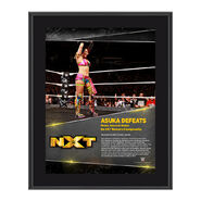 Asuka TakeOver Toronto 10 x 13 Commemorative Photo Plaque