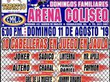 CMLL Guadalajara Domingos (August 11, 2018)