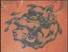 Christian wwe tattoo