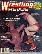 Wrestling Revue - August 1977