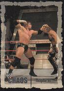 2004 WWE Chaos (Fleer) Triple H (No.30)