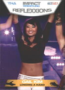 2012 TNA Impact Wrestling Reflexxions Trading Cards (Tristar) Gail Kim 98