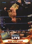 2013 TNA Impact Wrestling Live Trading Cards (Tristar) Rob Van Dam 21