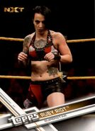 2017 WWE (Topps) Then, Now, Forever Ruby Riot 178