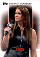 2017 WWE Women's Division (Topps) Stephanie McMahon 24
