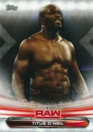 2019 WWE Raw Wrestling Cards (Topps) Titus O'Neil 71