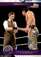 2019 WWE Road to WrestleMania Trading Cards (Topps) Gentleman Jack Gallagher 40