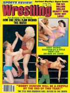 Sports Review Wrestling - October 1978