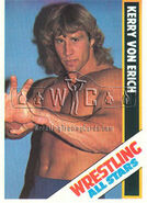1985 Wrestling All Stars Trading Cards Kerry Von Erich 11