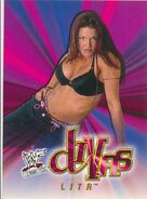 2001 WWF WrestleMania (Fleer) Lita 67