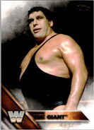 2016 WWE (Topps) Andre the Giant 52