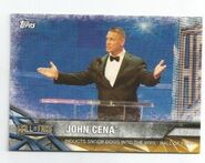 2017 WWE Road to WrestleMania Trading Cards (Topps) John Cena 50