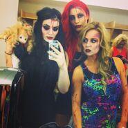 Paige, Emma, Eva Marie 2013 NXT Halloween