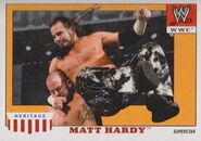 2008 WWE Heritage IV Trading Cards (Topps) Matt Hardy 34