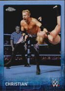 2015 Chrome WWE Wrestling Cards (Topps) Christian 16