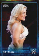 2015 Chrome WWE Wrestling Cards (Topps) Natalya 49