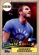 2017 WWE Heritage Wrestling Cards (Topps) Johnny Gargano 6