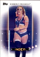 2017 WWE Women's Division (Topps) Kimberly Frankele 6