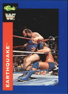 1991 WWF Classic Superstars Cards Earthquake 149