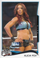 2014 WWE (Topps) Alicia Fox 56