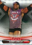 2019 WWE Raw Wrestling Cards (Topps) Bobby Lashley 9