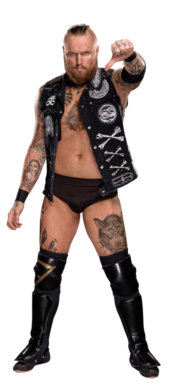 Aleister Black stat photo