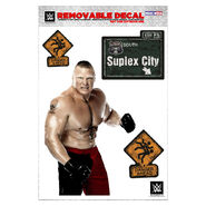 Brock Lesnar Removeable Decal