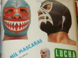 Mil Máscaras/Magazine covers