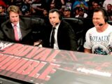Michael Cole, Jerry Lawler & JBL