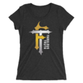 R-Truth & Carmella MMC Fabulous Truth Logo Women's Tri-Blend T-Shirt