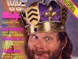 WWF Magazine - September 1989