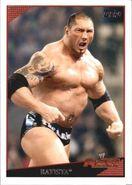 2009 WWE (Topps) Batista 55