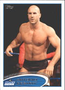 2012 WWE (Topps) Antonio Cesaro 86