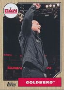 2017 WWE Heritage Wrestling Cards (Topps) Goldberg 23