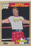 2017 WWE Heritage Wrestling Cards (Topps) Roddy Piper 91