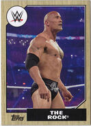 2017 WWE Heritage Wrestling Cards (Topps) The Rock 9