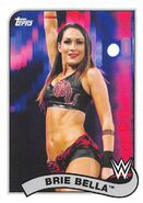 2018 WWE Heritage Wrestling Cards (Topps) Brie Bella 17