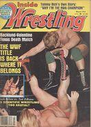 Inside Wrestling - March 1982