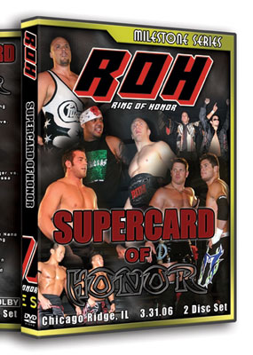 Image result for roh dragon gate 6 man supercard of honor 2006