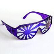 Randy Savage Purple Burst Glasses