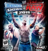 WWE SmackDown vs. Raw 2011のカバーアート
